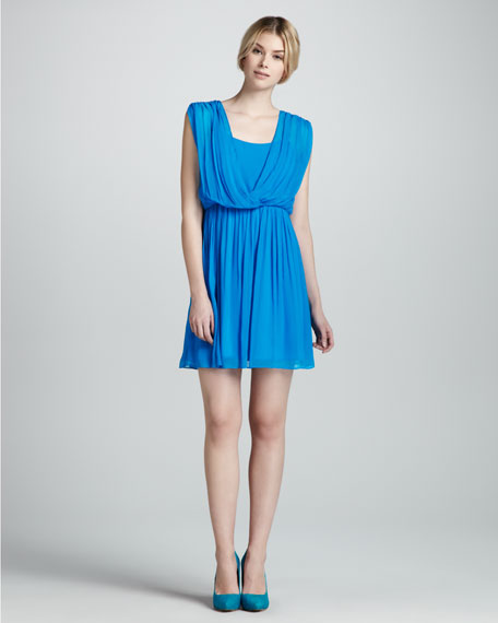 Savannah Sleeveless Cross-Top Dress