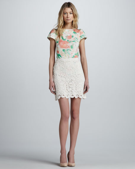 Lucia Lace Skirt