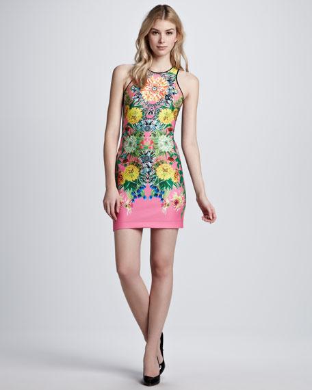 Turquoise Valley Neoprene Dress