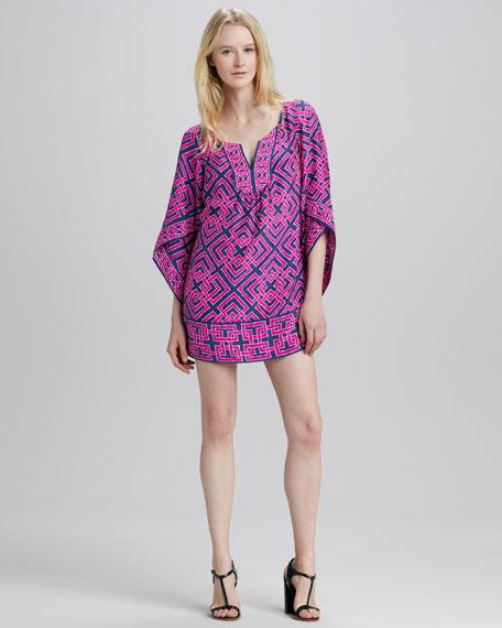 Tinsley Geometric-Print Tunic Dress