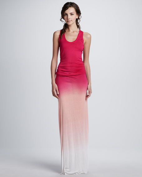 Young Fabulous and Broke Hamptons Sunset Ombre Maxi Dress