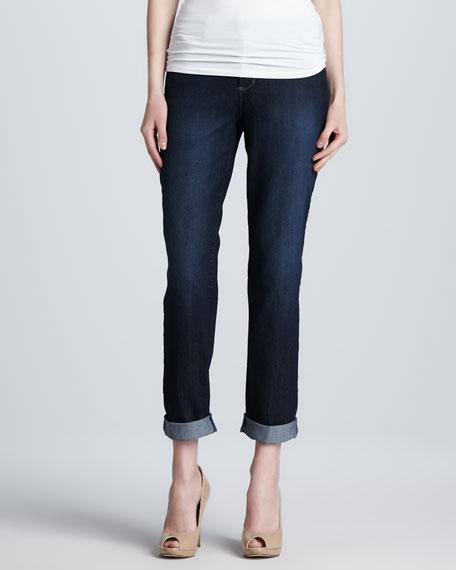 Tanya Boyfriend Rolled-Cuff Jeans