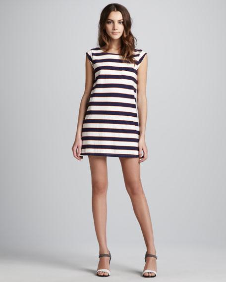 Striped Tee Shift Dress
