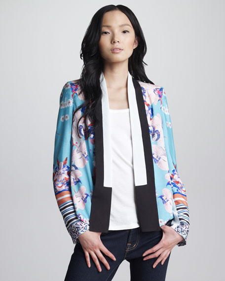 Prism Orchid Tuxedo Jacket
