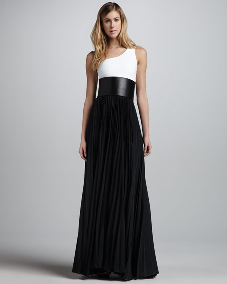 Zabrina One-Shoulder Maxi Dress