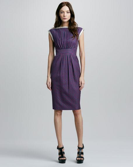 Clover Check Dress