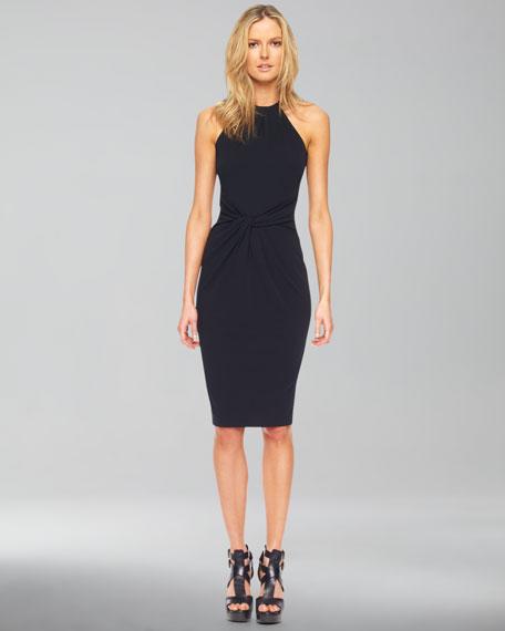 Jersey Halter Dress