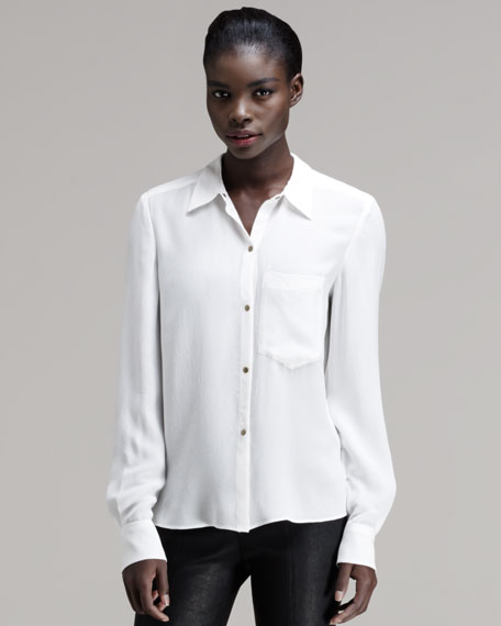 Wilvert Button-Down Blouse