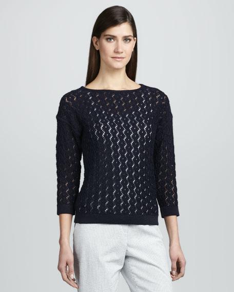 Seaside Stitches Knit Sweater