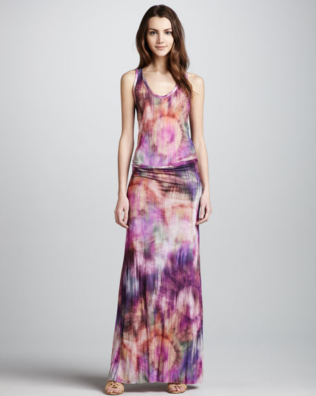 Hamptons Printed Maxi Dress