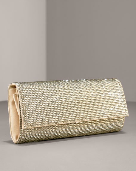 Ritz Fizz Soft Crystal Clutch