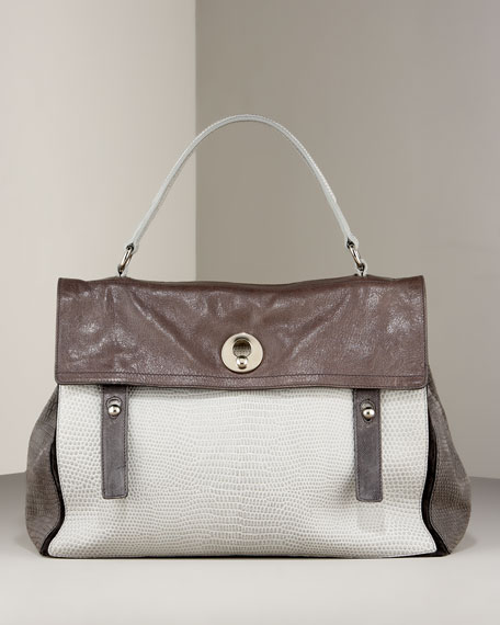 Yves Saint Laurent Muse Two-Flap Shoulder Bag