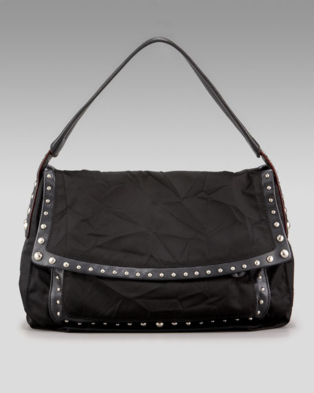 Crosstown Studded Hobo