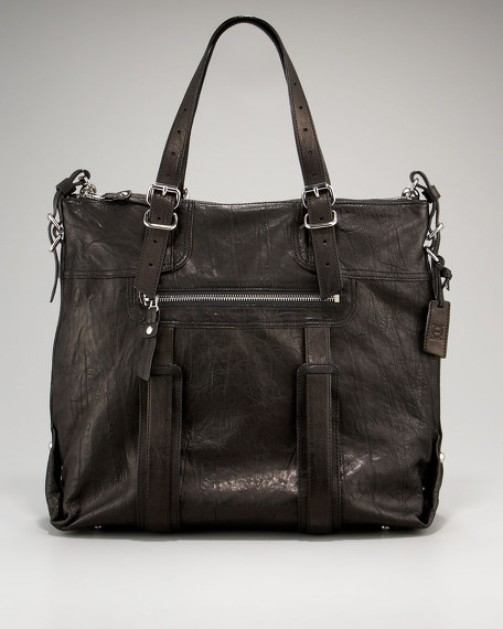 New Patch Tote, Black