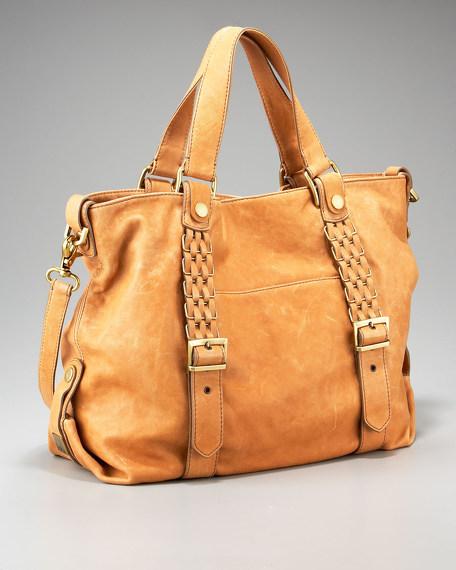 Meghan Belted Shoulder Bag
