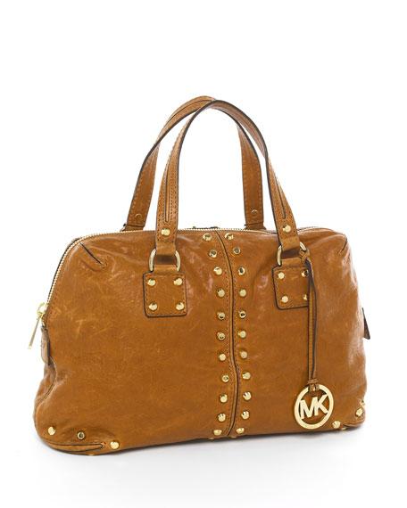 Uptown Astor Satchel, Luggage Brown