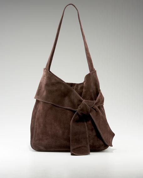 Caitlin Suede Shoulder Bag