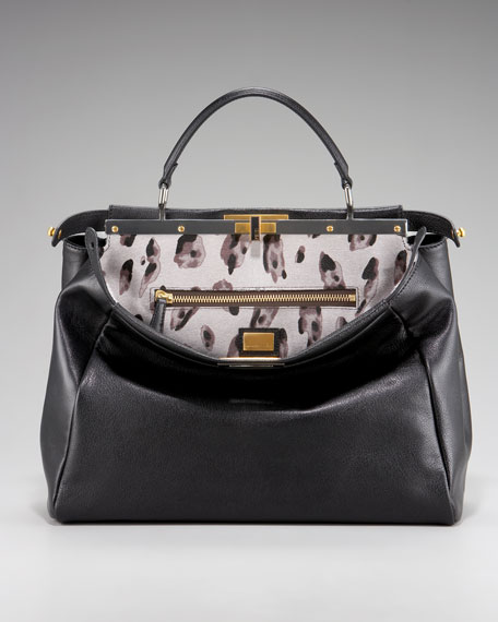 Peekaboo Calf Hair Handbag