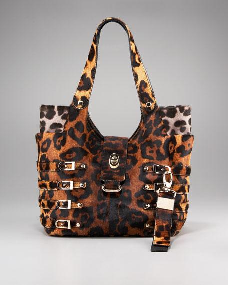 Bree Leopard-Print Tote