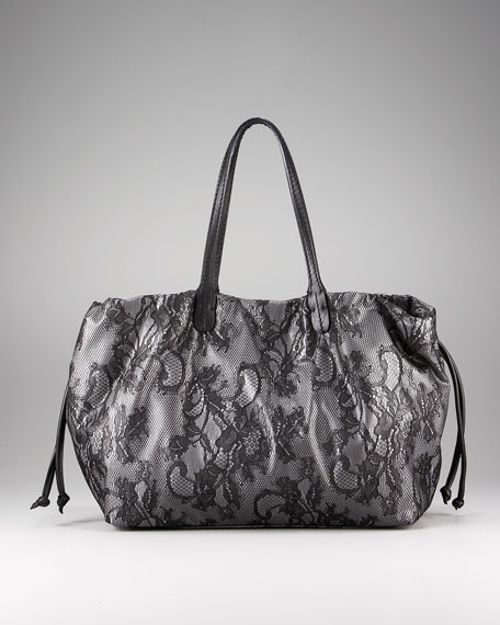 Day Lace Tote, Medium