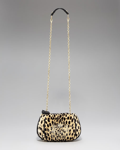 Cheetah-Print Mini Bag