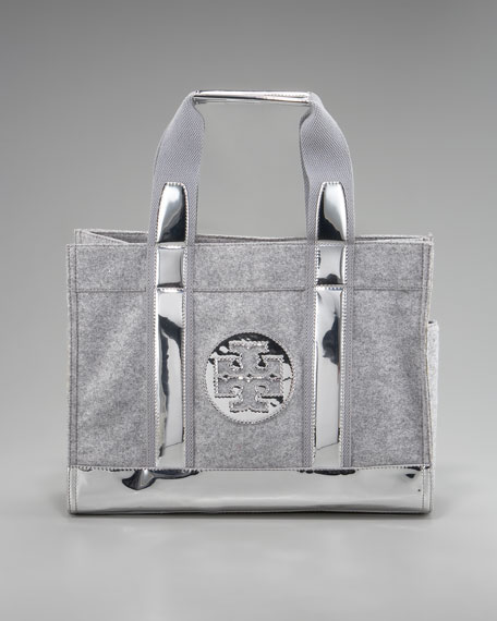 Flannel Tory Tote