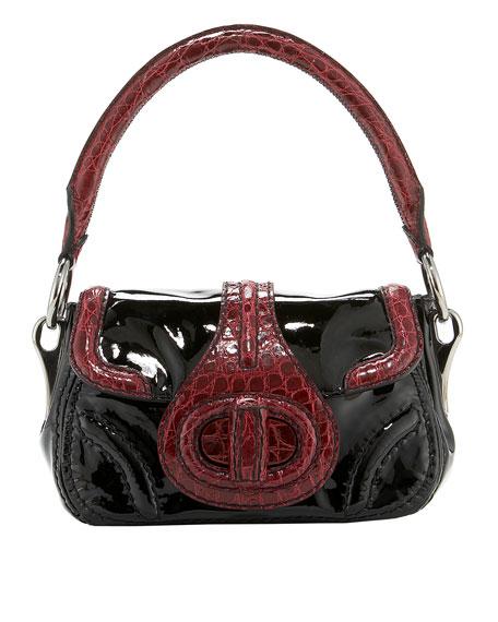 Vernice and Crocodile Handbag