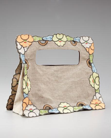 Fendi Floral Linen Bag Cover