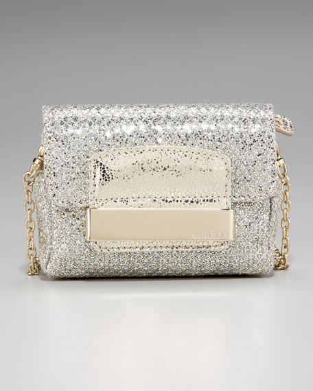 Glitter Chain Strap Shoulder Bag