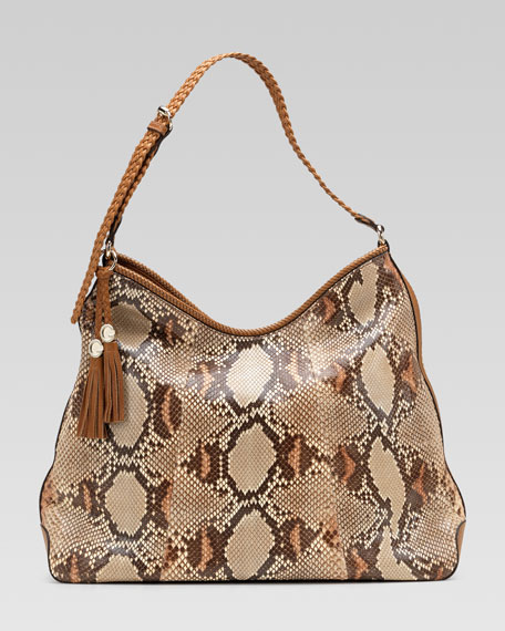 Marrakech Large Python Hobo