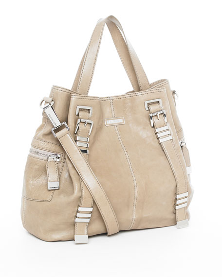 Darrington Shoulder Tote, Taupe