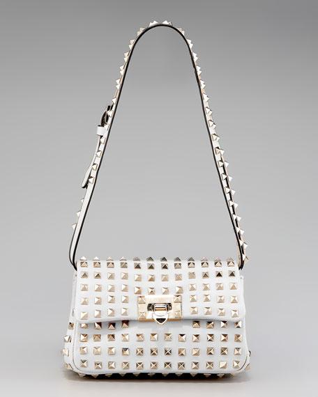 Rockstud Flap Bag, Small