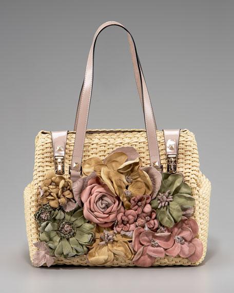 Flower Duffel Bag