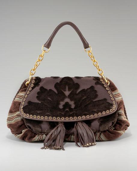 Velvet Messenger Bag