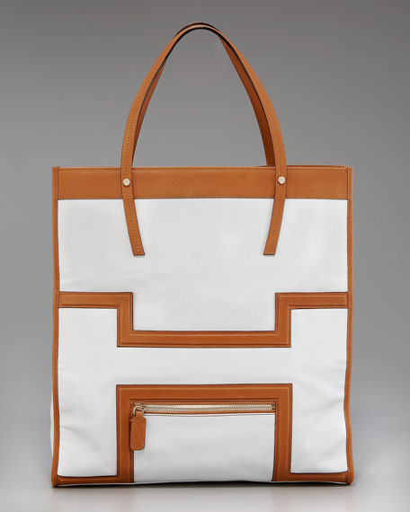 Halle Leather Tote