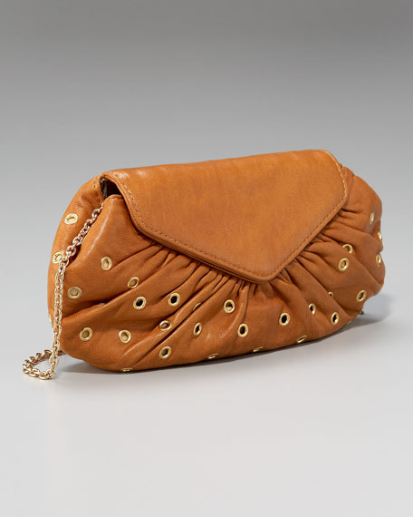 Diana Chain-Strap Flap Clutch