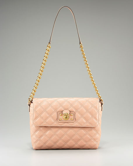 Single Leather Quilted Bag