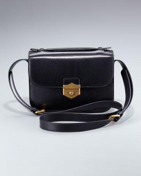 Kidskin Crossbody Bag, Medium