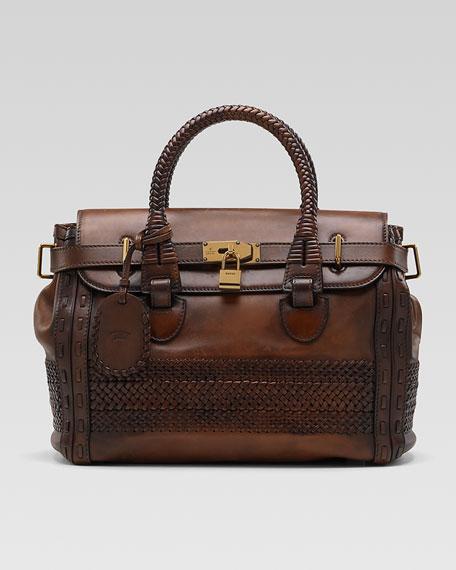 Handmade Medium Top-Handle Bag