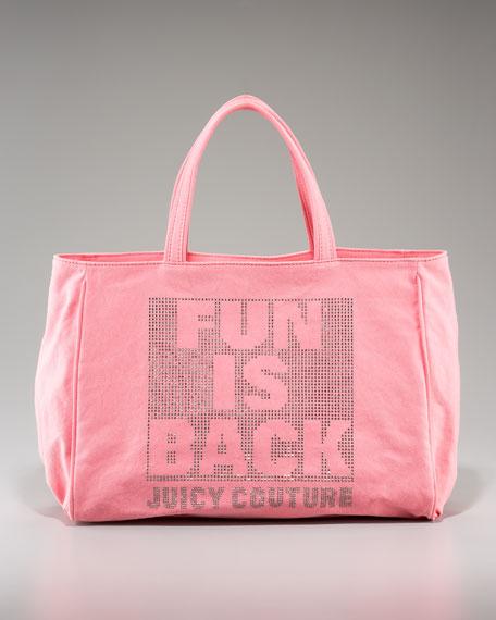 Fun Is Back Tote