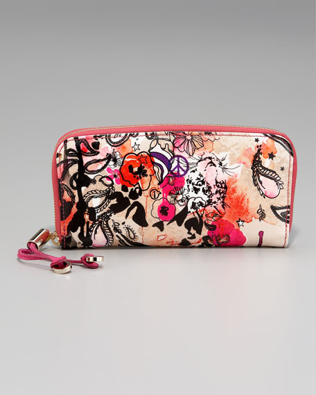Filipa Zip-Around Wallet