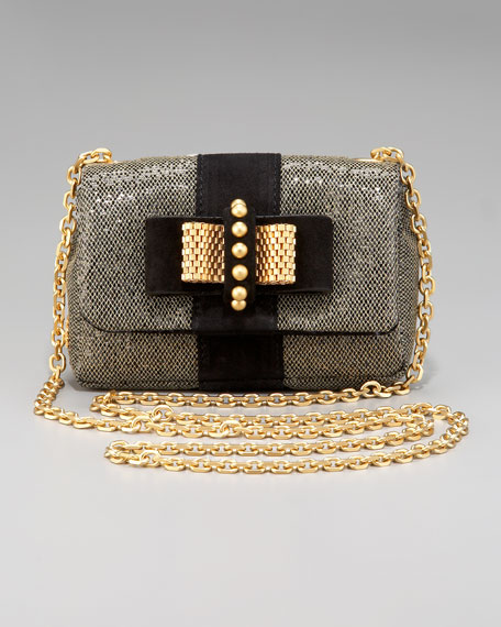 Sweet Charity Glittered Shoulder Bag