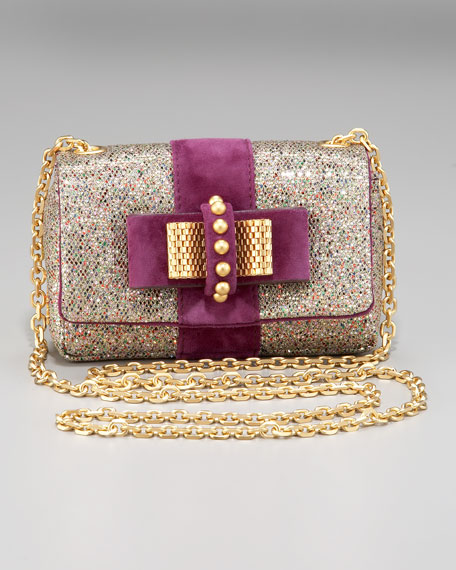 Sweet Charity Glittered Clutch