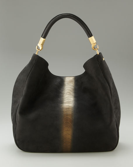 Ostrich-Stamped Hobo