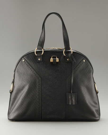 Embossed Tote, Oversize