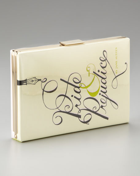 pride & prejudice book clutch