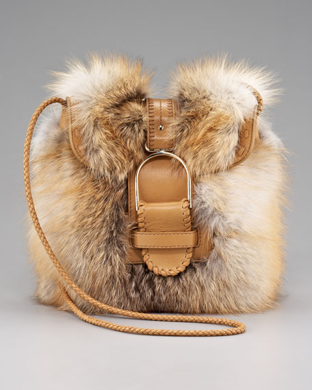 Leah Fox Fur Crossbody