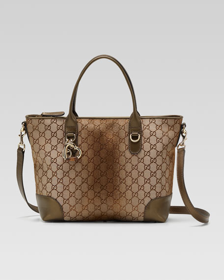 Heart Bit Medium Top Handle Bag