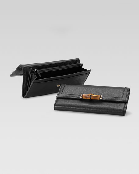 Bamboo Continental Wallet