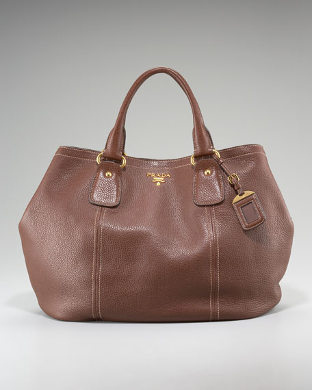 Vitello Daino Calfskin Satchel